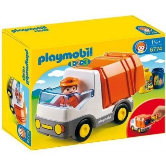 Playmobil Απορριμματοφόρο όχημα (6774)