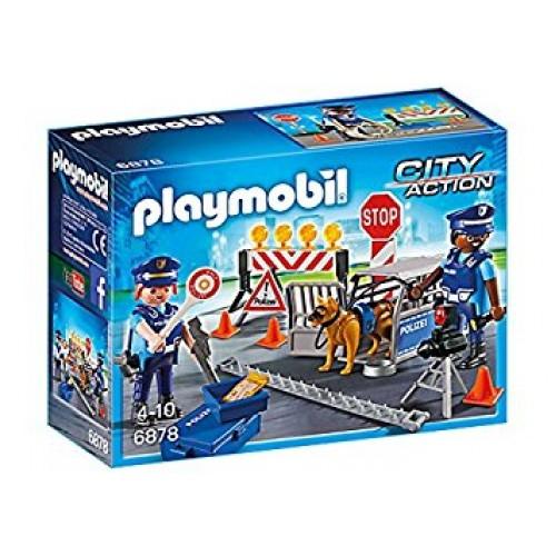 Playmobil Αστυνομικό Οδόφραγμα (6878)