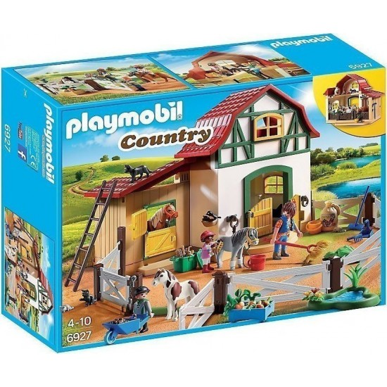 Playmobil Αχυρώνας Με Πόνυ (6927)
