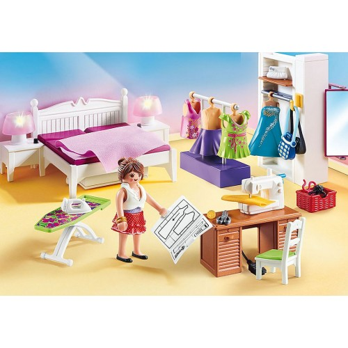 Playmobil Bedroom with Sewing Corner (70208)