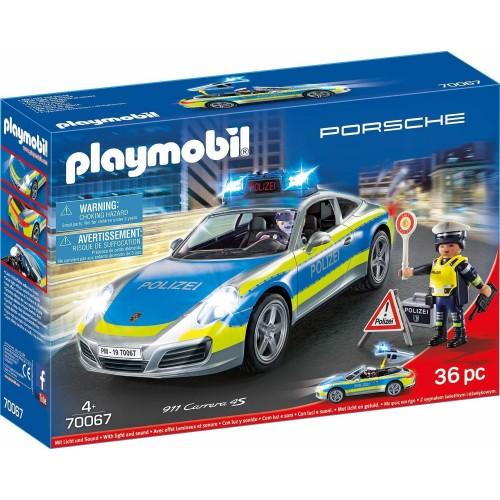 Playmobil City Action Porsche 911 Carrera 4S Polizei 70067