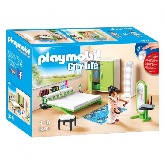 Playmobil City Life: Υπνοδωμάτιο (9271)