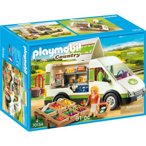 Playmobil Country Yard Shop, Multi-Coloured 70134