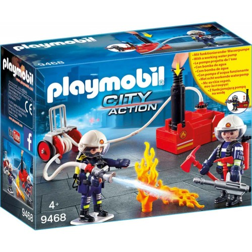 Playmobil : Fire Fighters with Pump (9468)