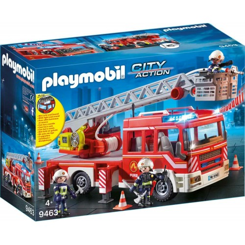Playmobil : Fire Ladder Truck (9463)