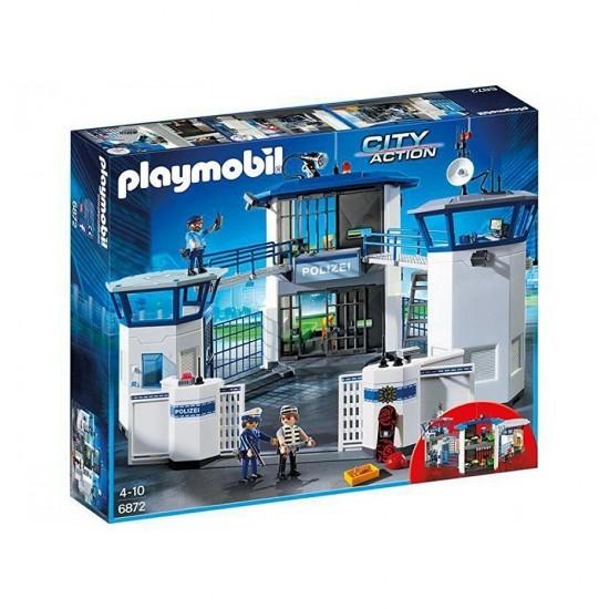 Playmobil Κέντρο Διοίκησης της Αστυνομίας με Φυλακή (6872)