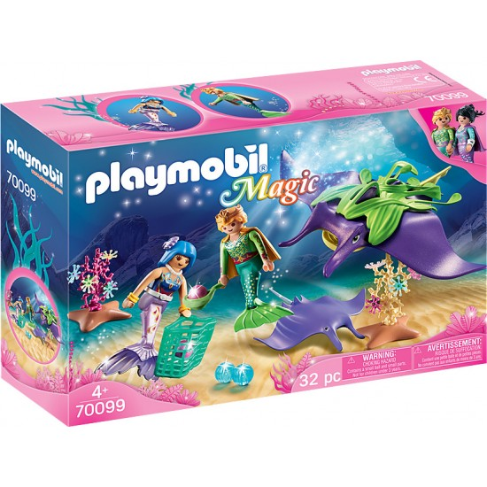 PLAYMOBIL Magic: Pearl Collector with Rays (70099)