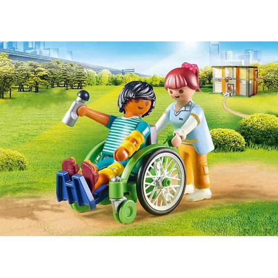 PLAYMOBIL Patient in Wheelchair (70193)