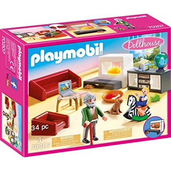 Playmobil Set: Cozy Livingroom (70207)