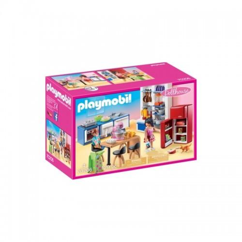 Playmobil Set: Family Kitchen (70206)