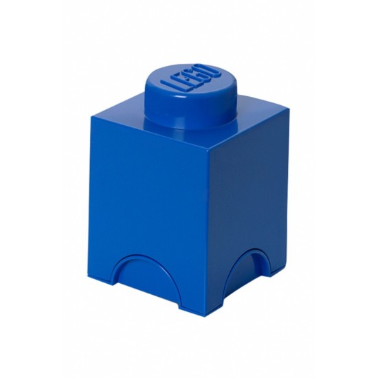 Room Copenhagen LEGO Storage Brick 1 blue - RC40011731
