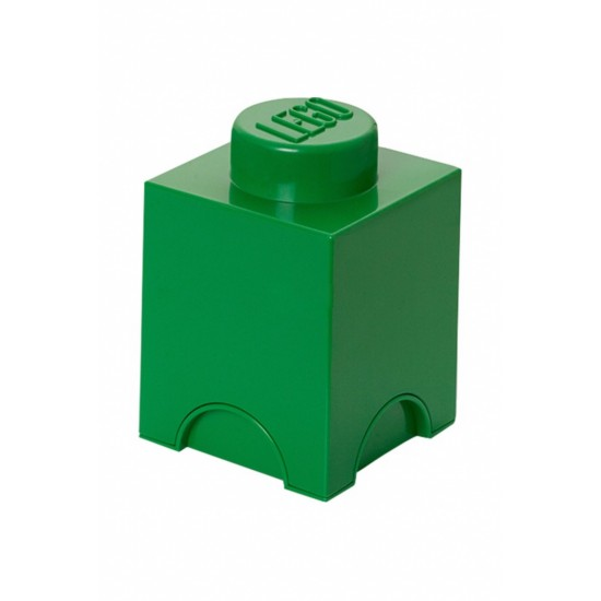 Room Copenhagen LEGO Storage Brick 1 green - RC40011734