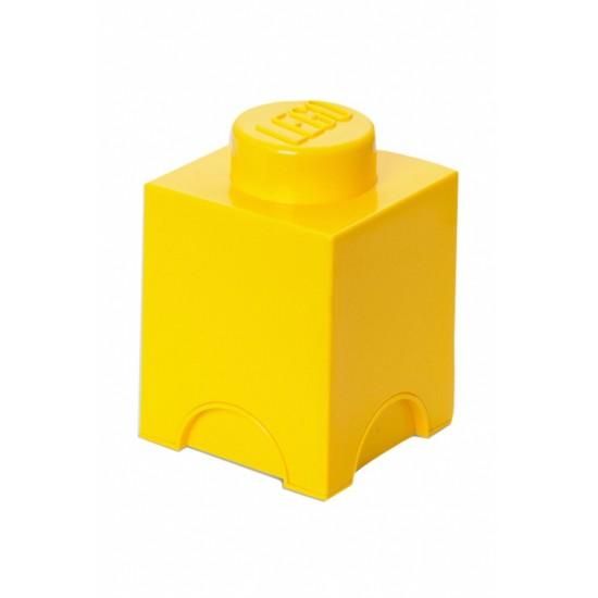 Room Copenhagen LEGO Storage Brick 1 yellow - RC40011732