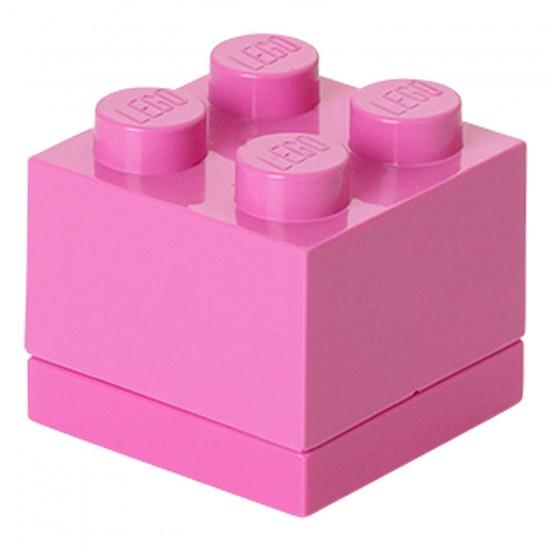 Room Copenhagen toy chest LEGO Mini Box 4, pink (RC40111739)