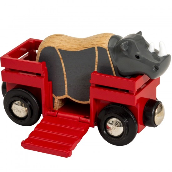BRIO Rhino and Wagon (33968)