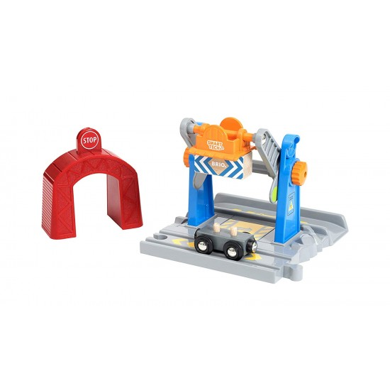 BRIO Smart Tech Lift and Load Crane (33827)