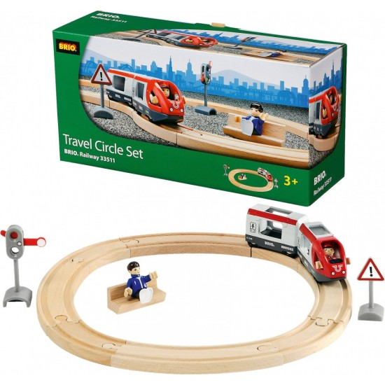 BRIO Travel Circle Set (33511)