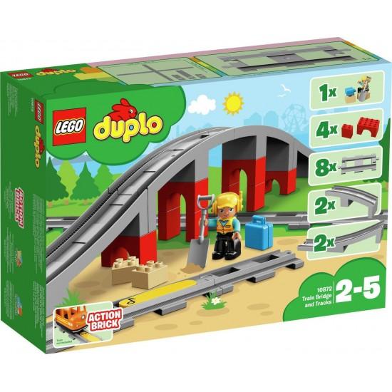 Lego Duplo: Train Bridge and Tracks 10872