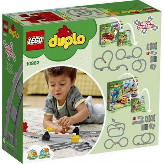 Lego Duplo: Train Tracks 10882
