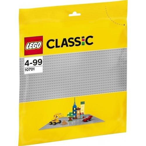 Lego Grey Baseplate 10701