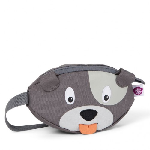 Affenzahn fanny pack Hugo Dog Gray (AFZ HIP 001-026)