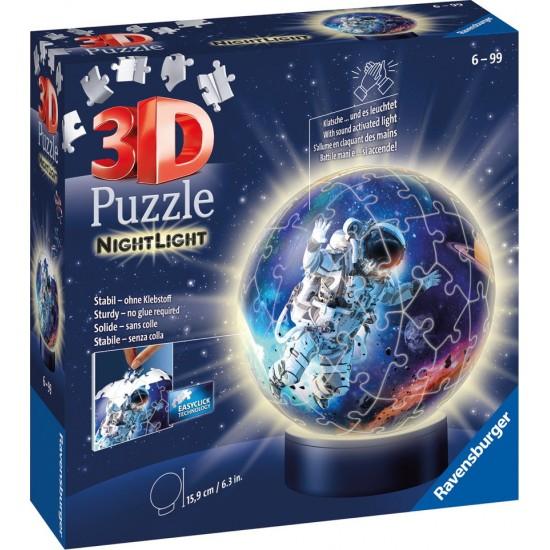 Ravensburger Puzzle 3D Μπάλα Λάμπα Νυκτός 72pcs (11264)