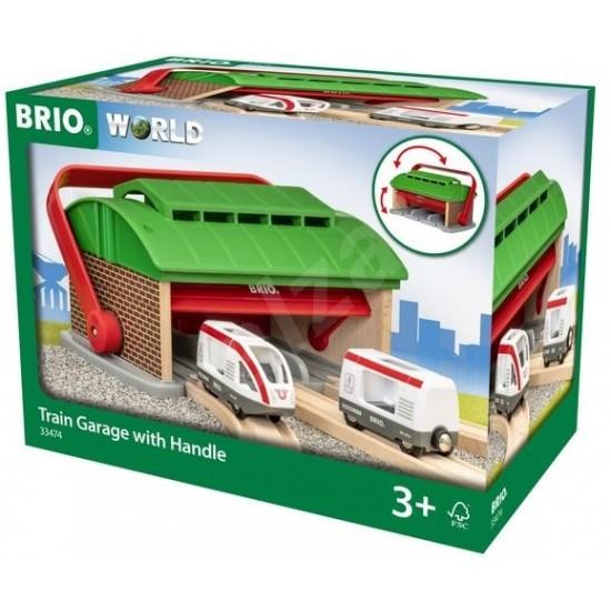 Brio Train Garage with Handle (33474)