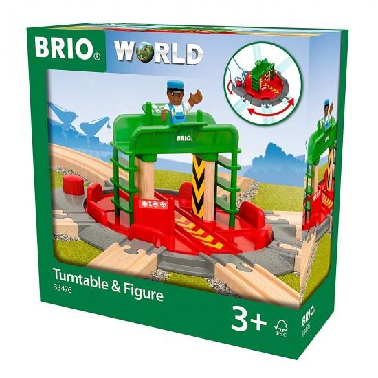 Brio Turntable & Figure (33476)