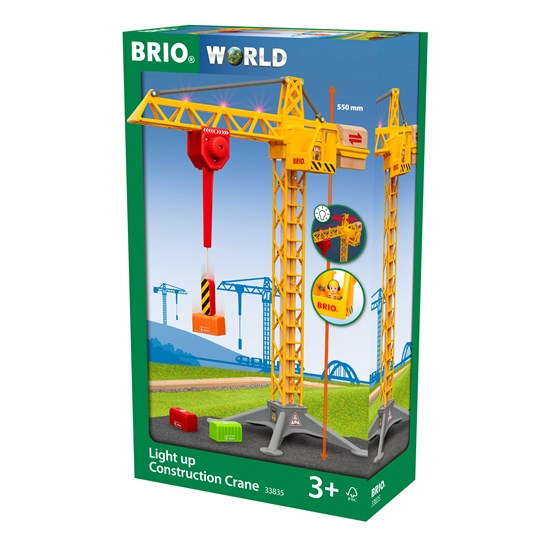 BRIO Light Up Construction Crane(33835)