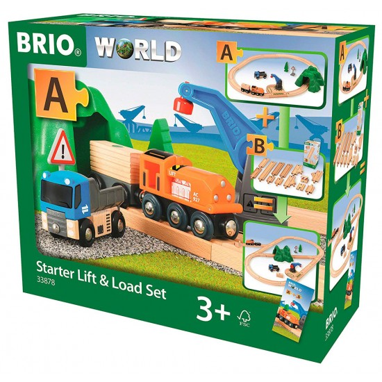 BRIO Starter Set Μεταφόρτωσης  (33878)