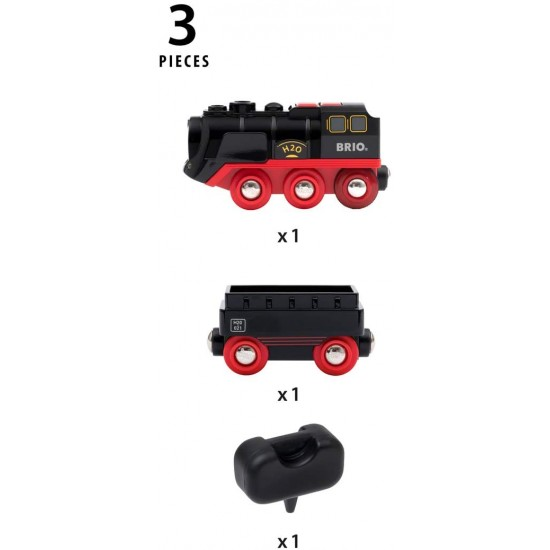 Brio Battery-Operated Steaming Train (33884)