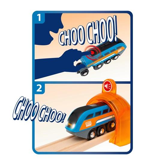 BRIO Smart Tech Sound Action Tunnel Travel Set(33972)