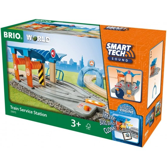 BRIO Tech Sound Train Service Station (33975)