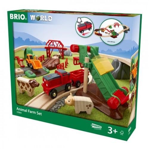 BRIO Animal Farm Set(33984)