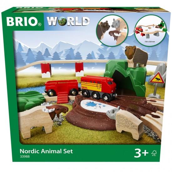BRIO Nordic Animal Set (33988)