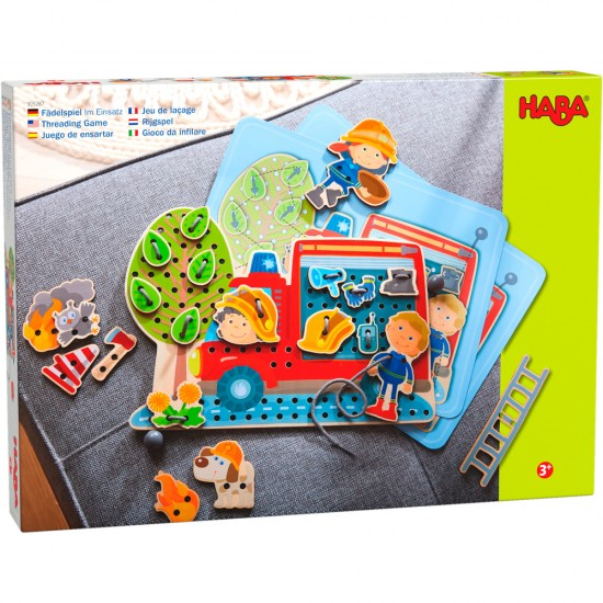 HABA Threading Game In Action (305287)