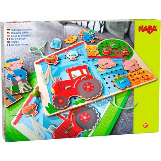 HABA Threading Game Farm (305289)