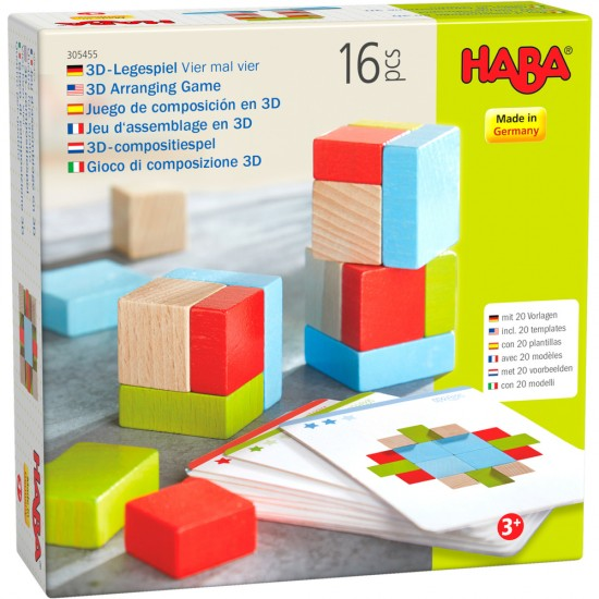 HABA 3D Arranging Game Four by Four(305455)