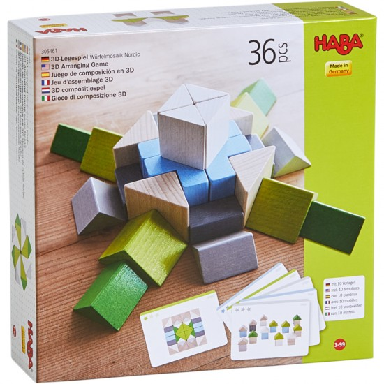 HABA 3D Arranging Game Nordic Mosaic(305461)