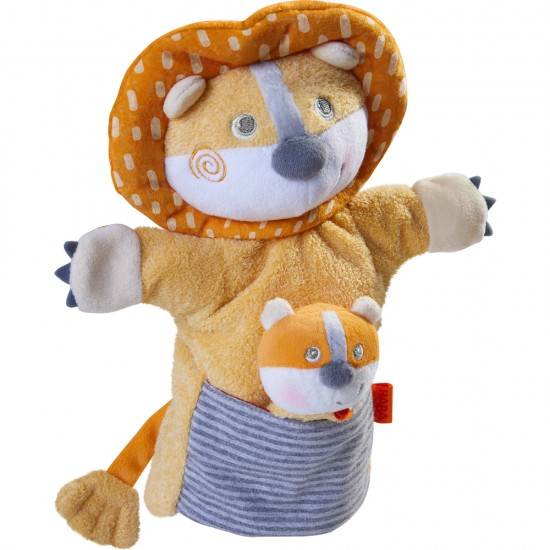 HABA Puppet Lion with Cub (305756)
