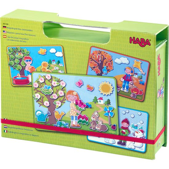 HABA Magnetic game box The Seasons (303386)