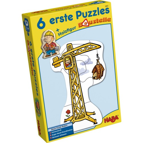 HABA 6 Little Hand Puzzles – Construction (3901)