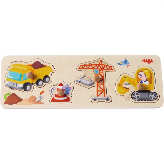 HABA Clutching Puzzle Building site (301943)