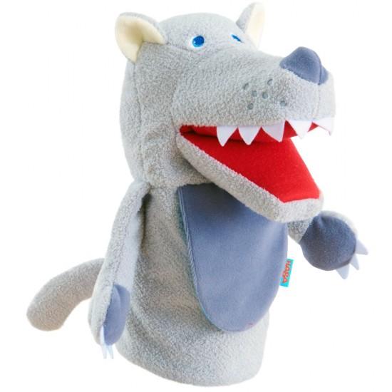 HABA Glove puppet Eat-it-up Wolfi (303276)