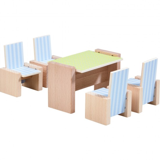 HABA Little Friends – Dollhouse Furniture Dining Room (303839)