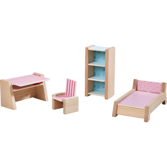 HABA Little Friends – Dollhouse Furniture Teenager's Room (303841)