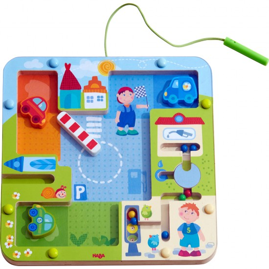 HABA Magnetic game On the road (303419)