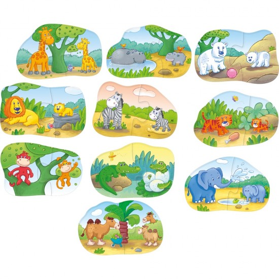 HABA One,Two, Puzzle-to-do – Animal Kids (7466)