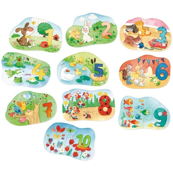 HABA One, Two, Puzzle-to-do – The Numbers 1 to 10 (7468)