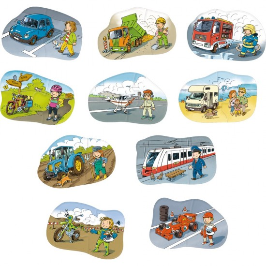 HABA One, Two, Puzzle-to-do – Vehicles (301667)